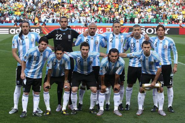 Сборная Аргентины. Фото: David CANNON/Getty Images