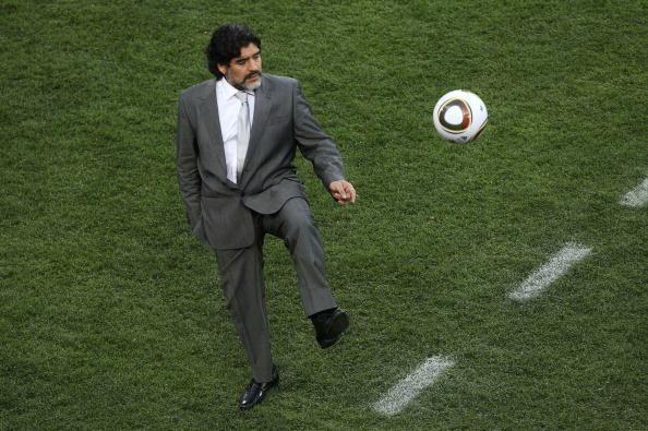 Диего Марадона. Фото: Streeter LECKA/Getty Images