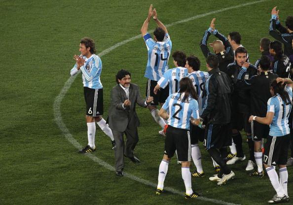 Аргентина-Нигерия. Фото: Streeter LECKA, Christof KOEPSEL, Chris McGRATH, Ezra SHAW, David CANNON/Getty Images