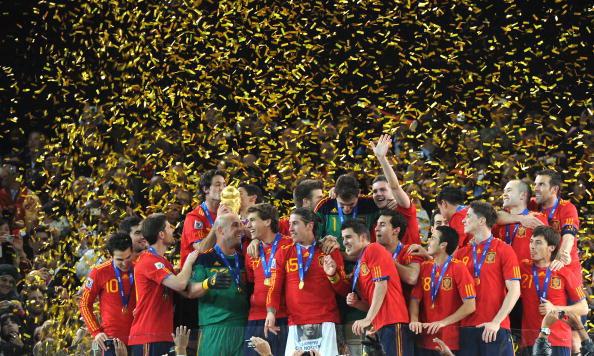 Сборная Испании – чемпион мира по футболу.  Фото: Gabriel BOUYS/AFP/Getty Images