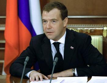 Дмитрий Медведев: нужно извлечь уроки из ванкуверской Олимпиады. Фото: Vladimir RODIONOV/AFP/Getty Images