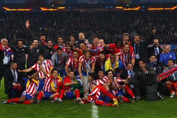 Мадридский «Атлетико» завоевал Лигу Европы. Фото: Laurence GRIFFITHS/Getty Images