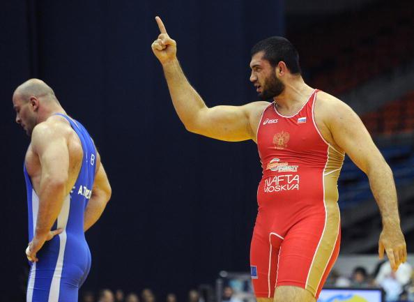 Билял  Махов стал трехкратным чемпионом мира по вольной борьбе. Фото: ALEXANDER NEMENOV/AFP/Getty Images
