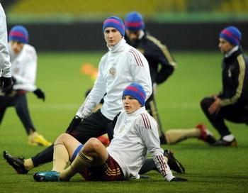 Сборная России заняла 17-е место в рейтинге ФИФА. Фото: Natalia KOLESNIKOVA/AFP/Getty Images