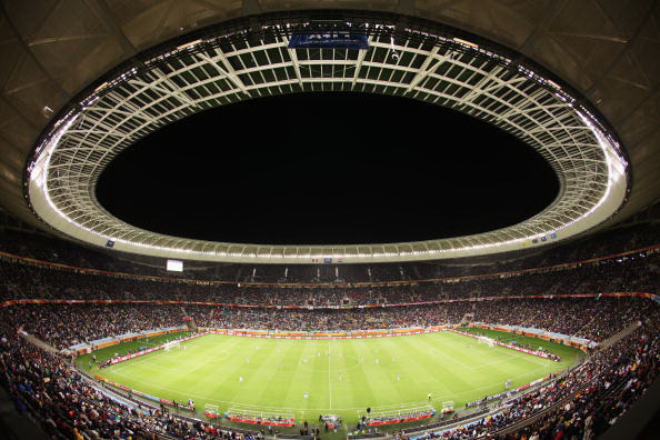 Кейптаун, Южная Африка - стадион Грин-Пойнт:  Италия – Парагвай. Фото: Doug PENSINGER/AFP/Getty Images
