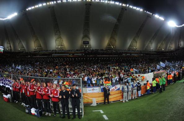 Южная Африка.Нельсон-Мандела/Бэй.Порт-Элизабет, стадион Нельсон-Мандела-Бэй. Фото: Franck FIFE/AFP/Getty Images