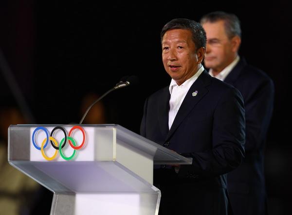 Председатель оргкомитета первых Юношеских Олимпийских игр в Сингапуре г-н Нг Сер Мианг. Фоторепортаж. Фото: MARK DADSWELL/Getty Images