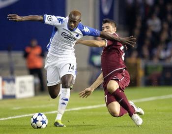 «Рубин» проиграл «Копенгагену» - 0:1, гол забили в конце матча. Фото: JENS NOERGAARD LARSEN/AFP/Getty Images