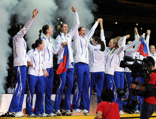 Волейболистки сборной России сохранили звание чемпионов мира. Фото: TOSHIFUMI KITAMURA/AFP/Getty Images