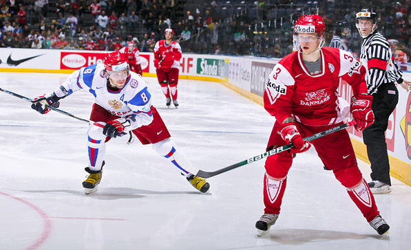 Россия – Дания. Фото с сайта livesport.ru