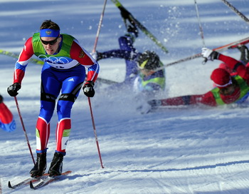 Никита Крюков стал олимпийским чемпионом. Фото: Franck FIFE/AFP/Getty Images