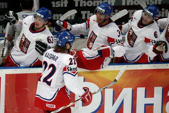 Сборная Чехии. Фото: Alex GRIMM/Bongarts/Getty Images