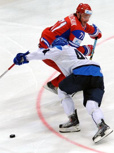 Илья Ковальчук . Фото: Alexander NEMENOV/AFP/Getty Images