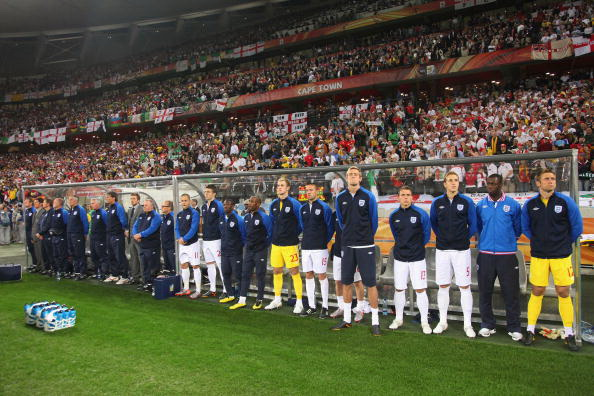 Кейптаун, Южная Африка - стадион Грин-Пойнт: Англия - Алжир. Фото: Doug PENSINGER/Getty Images