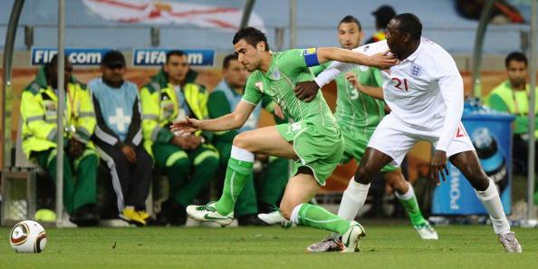 Англия – Алжир. Фото: Doug PENSINGER, Jamie McDONALD, Michael REGAN, Philippe DESMAZES, Paul ELLIS /Getty Images