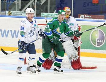 «Барыс» проиграл «Салавату Юлаеву» в серии буллитов. Фото с сайта hcsalavat.ru