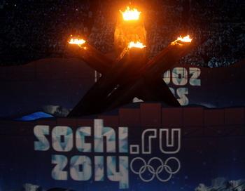 Эстафета олимпийского огня на сочинской Олимпиаде продлится 100 дней. Фото: Streeter  LECKA/Getty Images