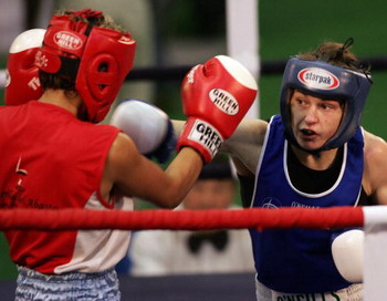 Барбадос, чемпионат мира по женскому боксу. Фото: MANPREET ROMANA/AFP/Getty Images