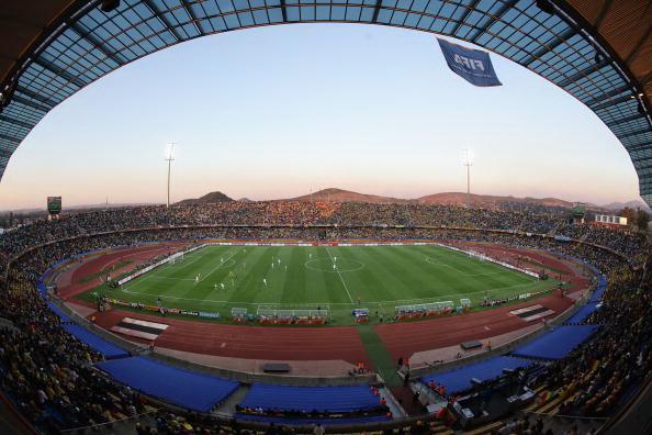 Рустембург, Южная Африка, стадион «Роял Бафотенг»: Гана – Австралия.Фото: David CANNON/Getty Images