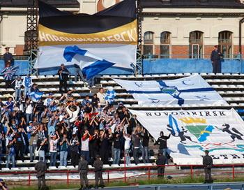 В матче Лиги чемпионов ФК «Сибирь» выиграл ПСВ.  Фото с сайта sib-fans.ru