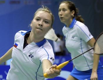 Нина Вислова и Валерия Сорокина. Фото: Liu JIN/AFP/Getty Images