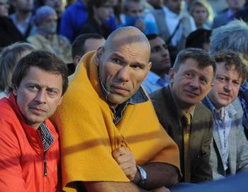 Бой без правил. Битва на Неве 4. Фото с сайта mixfight.ru