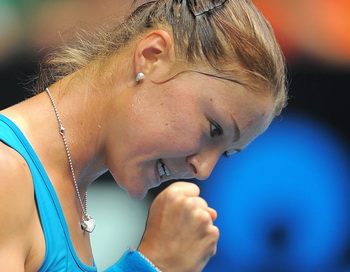 Динара Сафина вышла в четвертый круг Australian Open. Фото: WILLIAM WEST/AFP/Getty Images