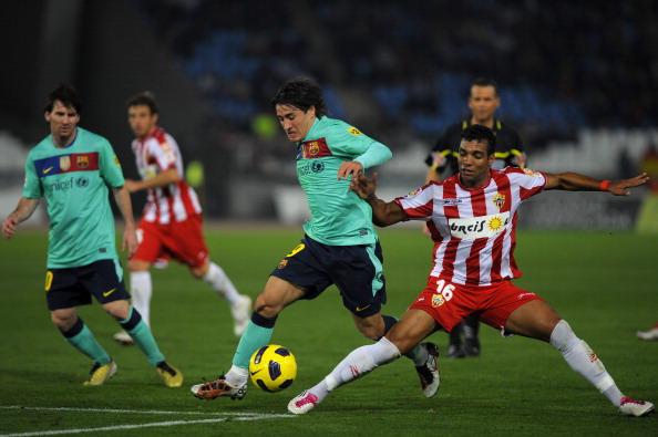 «Альмерию»  «Барселона» обыграла с разгромным счетом 8:0 на чемпионате Испании по футболу. Фото: JORGE GUERRERO, DENIS DOYLE/Getty Images