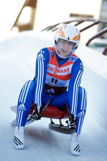 Татьяна Иванова завоевала золотую медаль на чемпионате Европы. Фото: ILMARS ZNOTINS/AFP/Getty Images