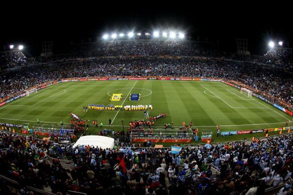Южная Африка. Полкован. Стадион Петер Мокаба: Греция – Аргентина. Фото: Martin ROSE/AFP/Getty Images
