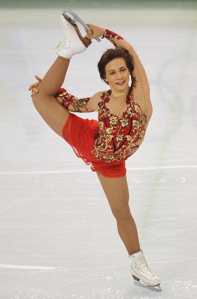 Алена Леонова стала восьмой после короткой программы в Ванкувере. Фото: Vincenzo PINTO/AFP/Getty Images