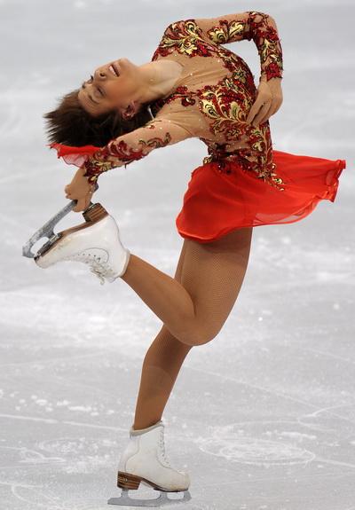 Алена Леонова стала восьмой после короткой программы в Ванкувере. Фото: Robyn BECK/AFP/Getty Images