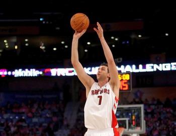 НБА: Придя в команду еще в 2006 года, только сейчас Андреа Барьяни стал играть на первых ролях в Торонто Рэпторс. Фото: CHRIS GRAYTHEN/Getty Images