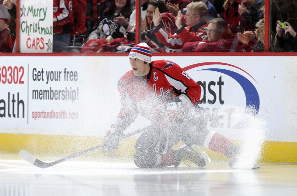 «Вашингтон»- «Питсбург» - 2:3. Команда Евгения Малкина выиграла по буллитам команду Александра Овечкина. Фото: Greg Fiume/Getty Images