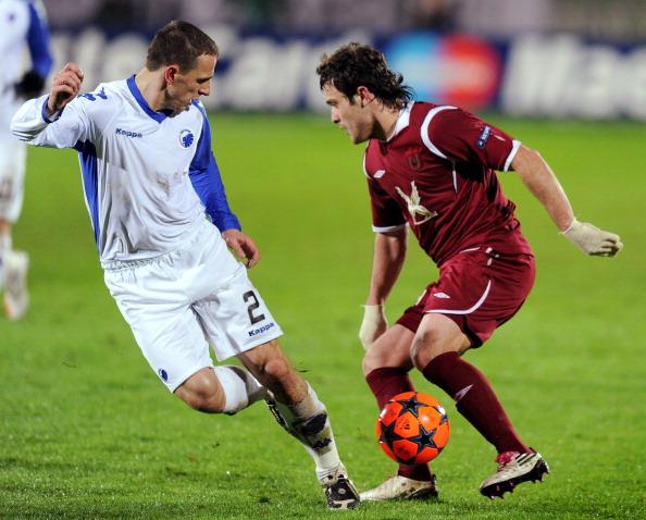 «Рубин» выиграл у «Копенгагена» со счетом 1:0. Фото: DMITRY KOSTYUKOV/AFP/Getty Images