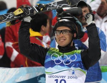 В Ванкувере для Белоруссии Алексей Гришин выиграл первое золото. Фото: David HECKER/AFP/Getty Images
