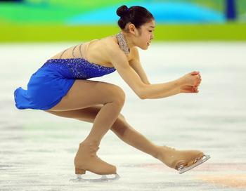 Олимпийской чемпионкой Ванкувера в женском одиночном фигурном катании стала кореянка Ю На Ким. Фото: Cameron SPENCER/Getty Images
