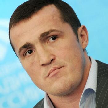 Российский боксер Денис Лебедев. Фото РИА Новости