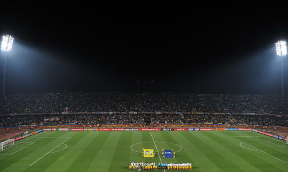 Южная Африка. Рустембург. Стадион Роял Бафокенг: США – Гана. Фото: Roberto SCHMIDT /AFP/Getty Images