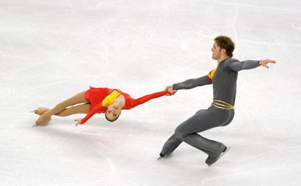 Вера Базарова и Юрий Ларионов. Фото: Valerio PENNICINO/Getty Images