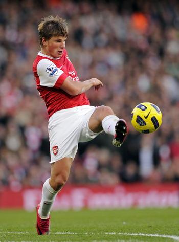 Гол Аршавина помог «Арсеналу» обыграть «Астон Виллу». Фото: GLYN KIRK/AFP/Getty Images