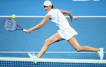 Екатерина Макарова вышла в финал Открытого чемпионата Австралии  в миксте. Фото: Mark KOLBE/Getty Images