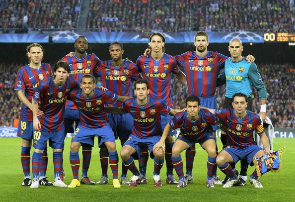 «Барселона» (Испания). Фото: Lluis GENE /AFP/Getty Images