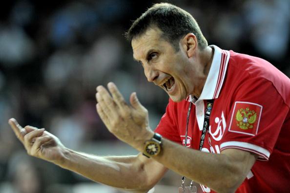 Гл. Тренер сборной России по баскетболу Дэвид Блатт. Фото: ARIS MESSINIS/AFP/Getty Images
