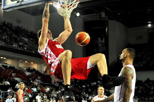 Сборная России на ЧМ по баскетболу стартовала с победы. Фото: ARIS MESSINIS/AFP/Getty Images
