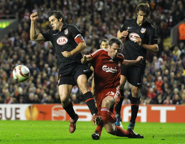 «Атлетико» (Испания) - «Ливерпуль» (Англия). Фото: Paul ELLIS, Javier SORIANO,  Paul ELLIS, Alex LIVESEY, Clive BRUNSKILL/AFP/Getty Images