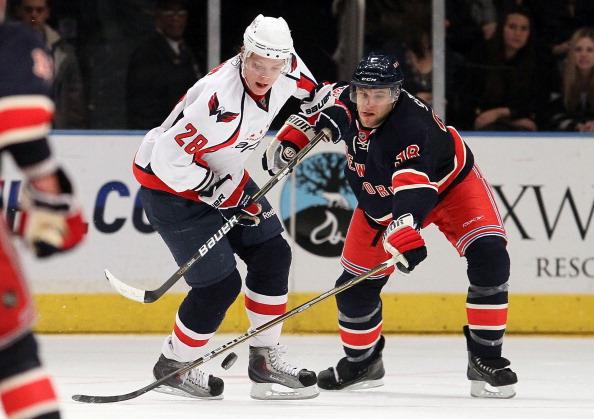 НХЛ: «Вашингтон» -  «Рейнджерс» - 0:7.Фоторепортаж. Фото: Jim McIsaac/ Getty Images