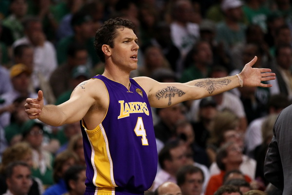 Люк Уолтон, Los Angeles Lakers. Фото: Elsa/Getty Images