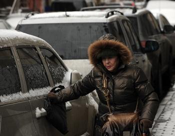 Штраф за неправильно припаркованный автомобиль вырастет в десять раз. Фото: Kirill Kudryavtsev/AFP/Getty Images