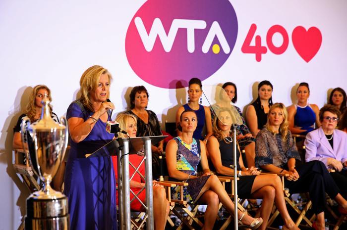 Председатель WTA Стейси Алластер на праздновании 40-летия WTA в Лондоне. Фото: Julian Finney/Getty Images